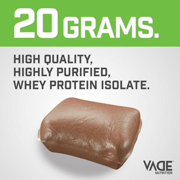 100% Whey Isolate Protein Sample Pack - Curves