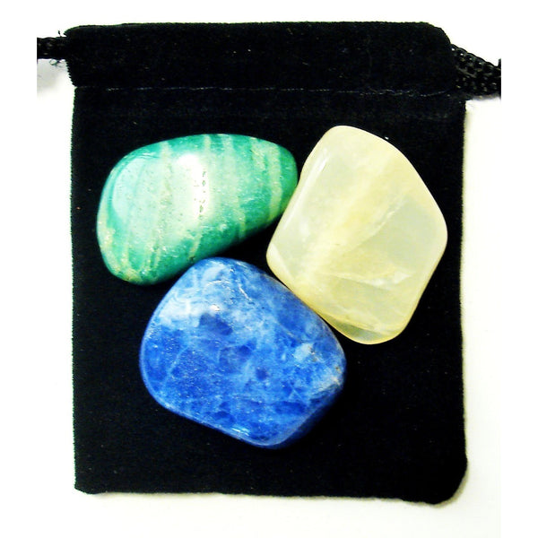 Virgo Zodiac / Astrological Tumbled Crystal Healing Set
