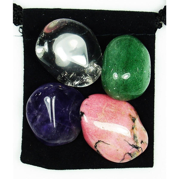 Allergy Relief Tumbled Crystal Healing Set