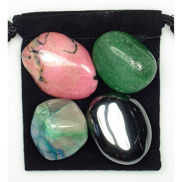Hip Support Tumbled Crystal Healing Set