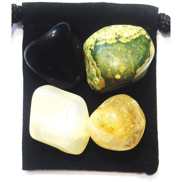 Emotional Release Tumbled Crystal Healing Set