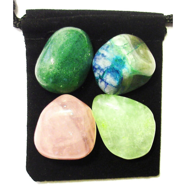Lung Aid Tumbled Crystal Healing Set