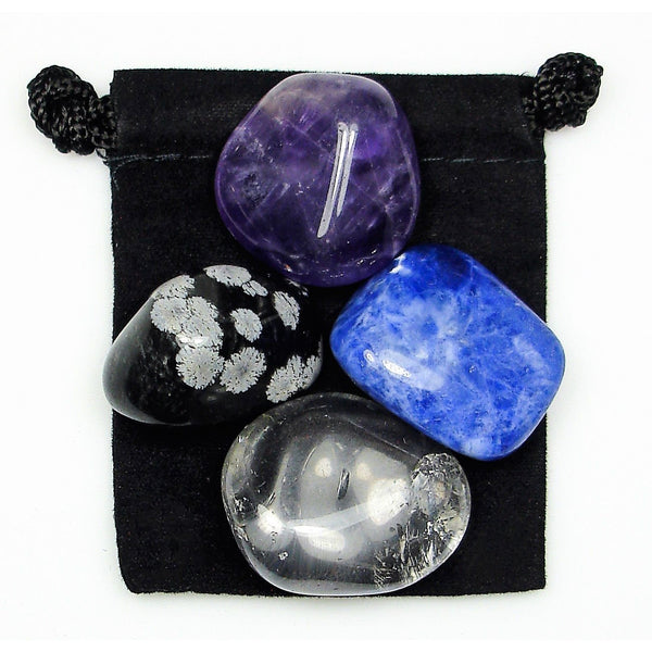 Meditation Tumbled Crystal Healing Set
