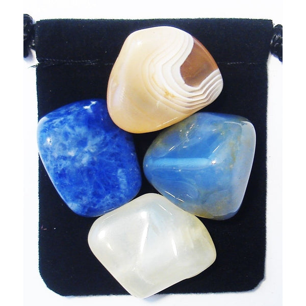 Breast Feeding Support Tumbled Crystal Healing Set