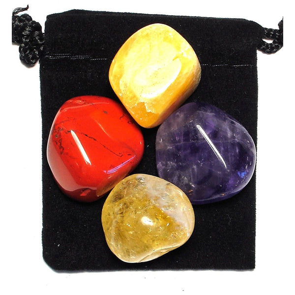 Turn Ideas into Reality Tumbled Crystal Healing Set