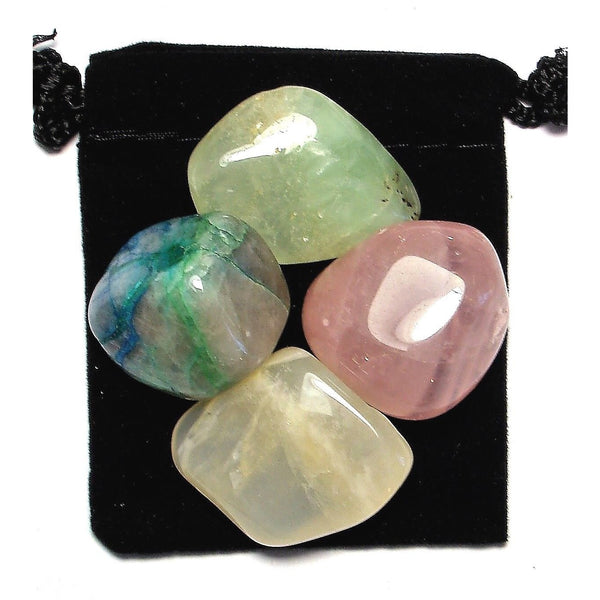 Manifest Love Tumbled Crystal Healing Set
