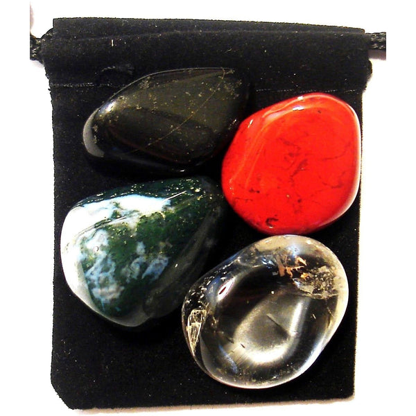 Long Term Illness Tumbled Crystal Healing Set
