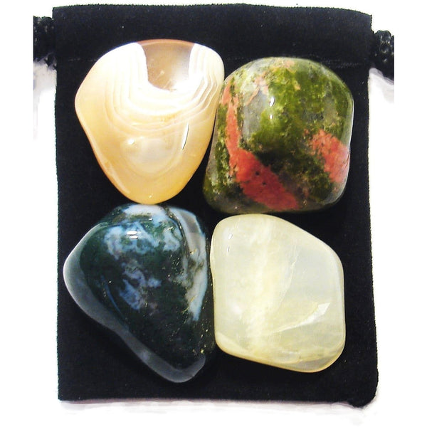 Pregnancy and Birthing Aid Tumbled Crystal Healing Set