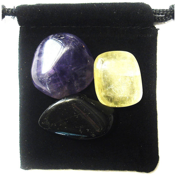 Pisces Zodiac / Astrological Tumbled Crystal Healing Set