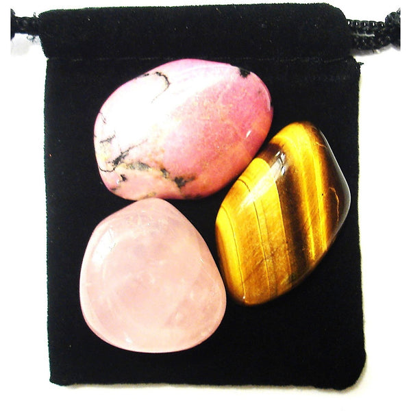 Taurus Zodiac / Astrological Tumbled Crystal Healing Set