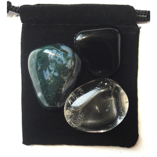 Capricorn Zodiac / Astrological Tumbled Crystal Healing Set