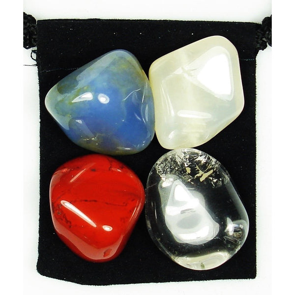 Mineral Maintenance Tumbled Crystal Healing Set