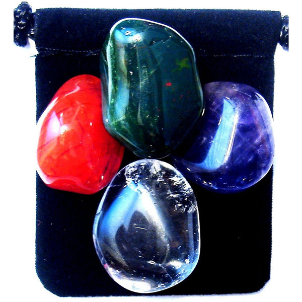 Lymphoma Tumbled Crystal Healing Set