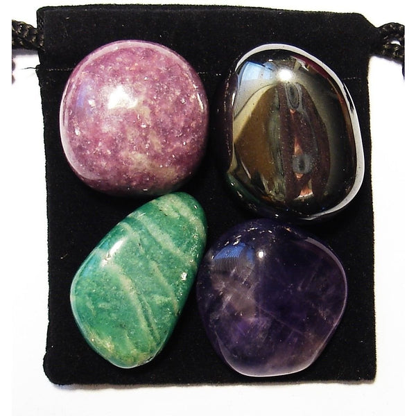 ADD / ADHD Relief Tumbled Crystal Healing Set