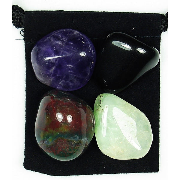 Irritability Tumbled Crystal Healing Set