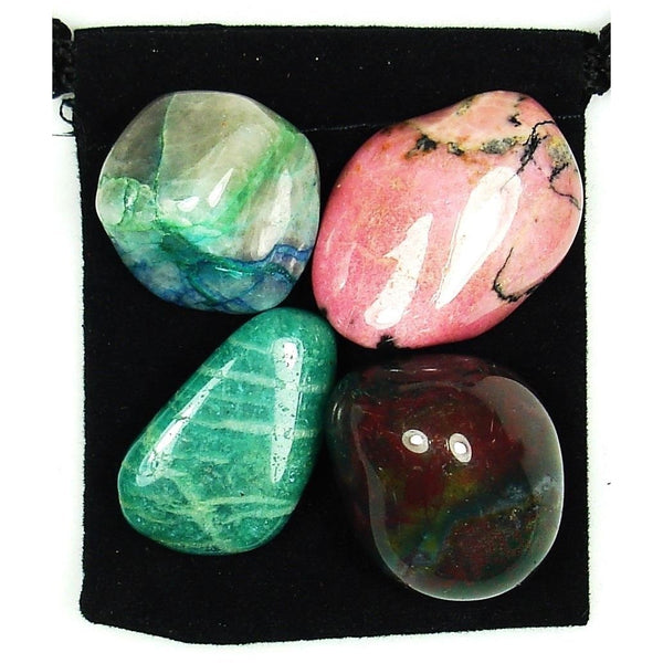 Chronic Obstructive Pulmonary Disease (COPD) Tumbled Crystal Healing Set