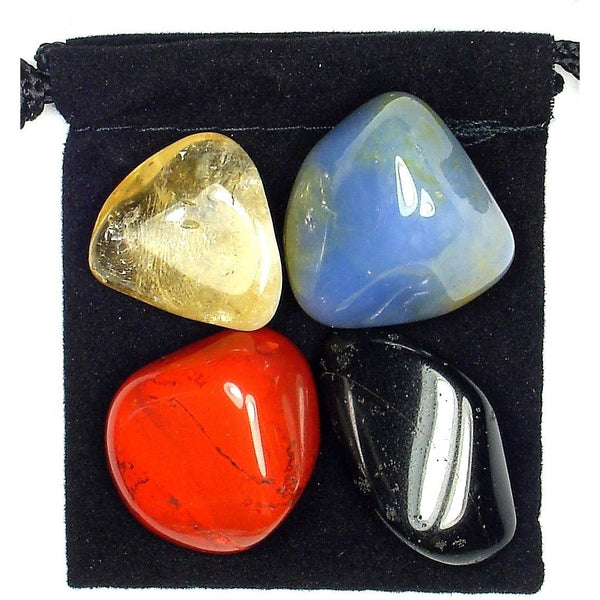 Chronic Fatigue Syndrome Tumbled Crystal Healing Set