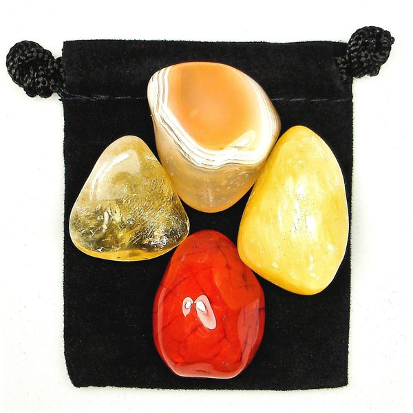 Analytic Abilities Tumbled Crystal Healing Set