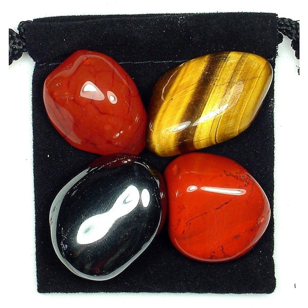 Male Fertility Help Tumbled Crystal Healing Set