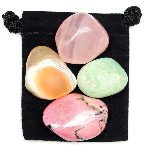 Overcoming Trauma Tumbled Crystal Healing Set