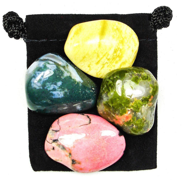 Emotional Balance Tumbled Crystal Healing Set
