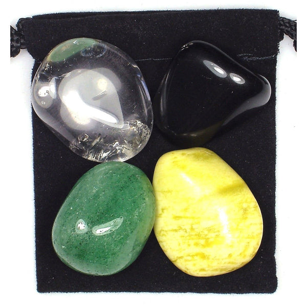 Cholesterol Control Tumbled Crystal Healing Set