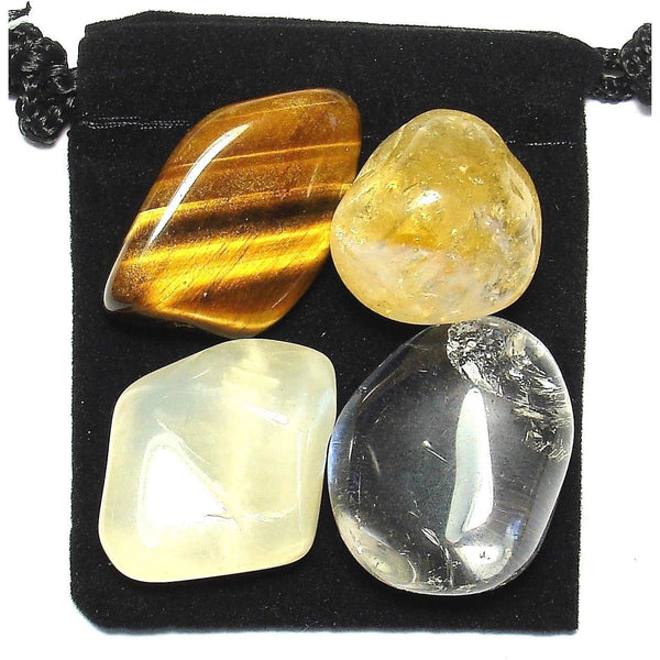 Good Luck Tumbled Crystal Healing Set