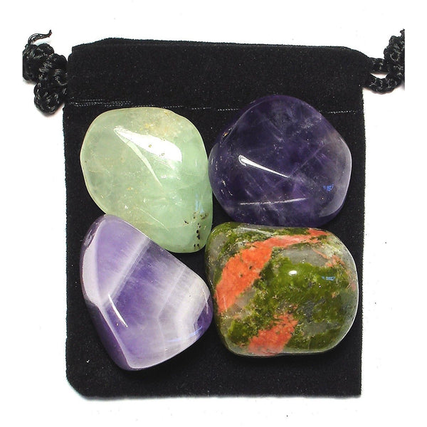 Visualization Tumbled Crystal Healing Set