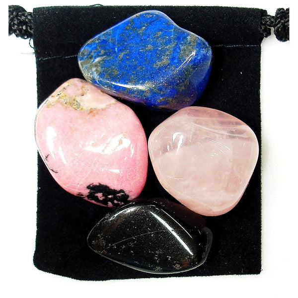 Post Traumatic Stress Disorder (PTSD) Tumbled Crystal Healing Set