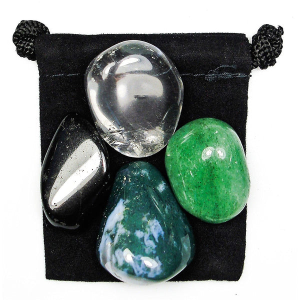 Tolerance Tumbled Crystal Healing Set