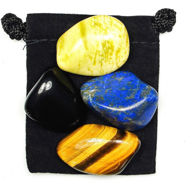 Personal Power Tumbled Crystal Healing Set