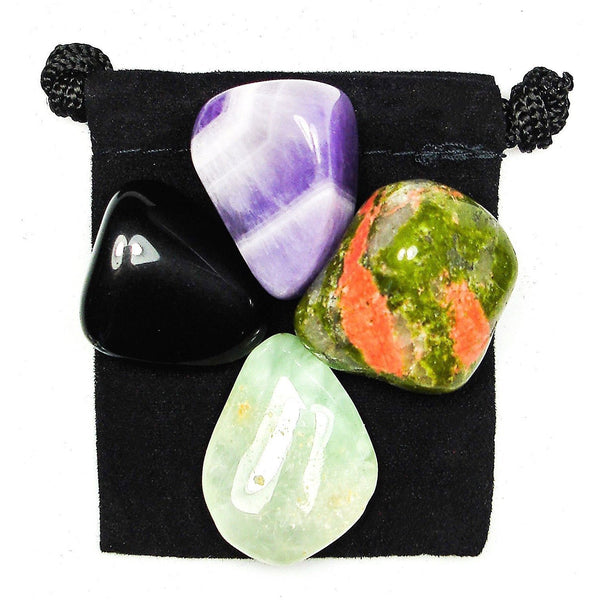 Gift of Prophecy Tumbled Crystal Healing Set