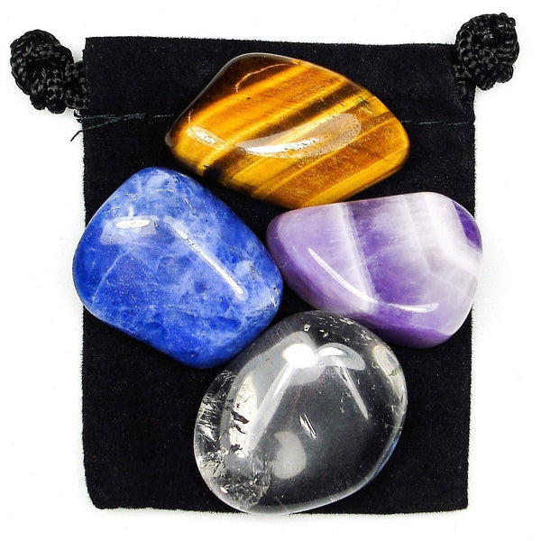 Self Discovery Tumbled Crystal Healing Set