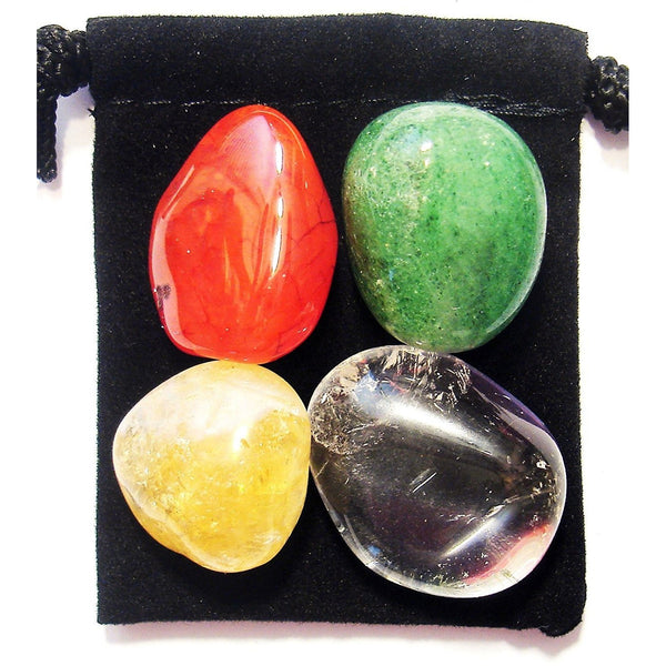 Business Success Tumbled Crystal Healing Set