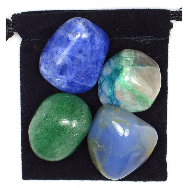 Blood Pressure Control Tumbled Crystal Healing Set