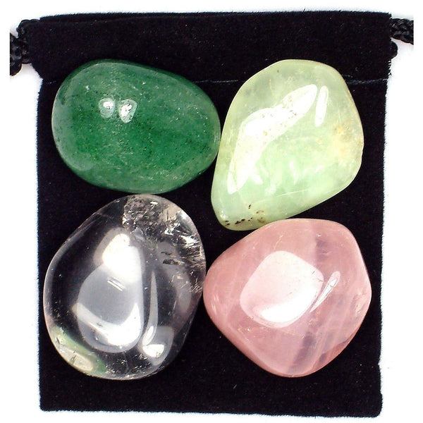 Chest Relief Tumbled Crystal Healing Set