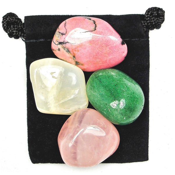 Overcoming Heartache Tumbled Crystal Healing Set