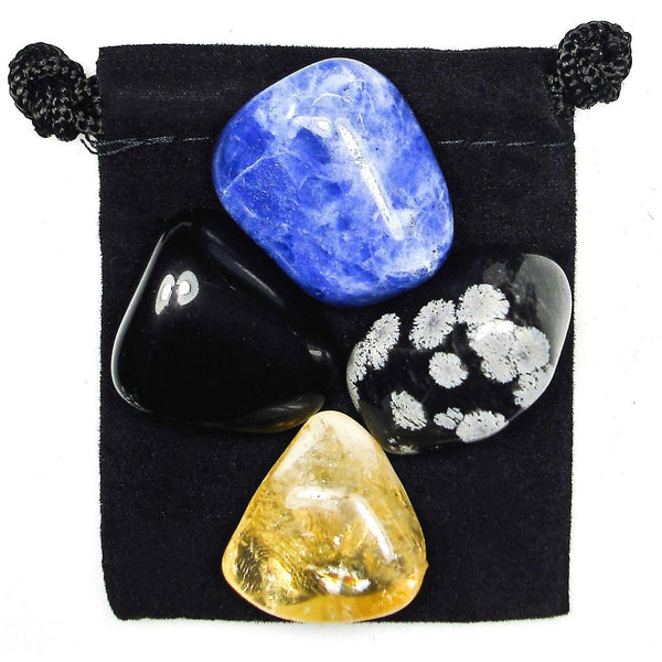 Mental Reprogramming Tumbled Crystal Healing Set