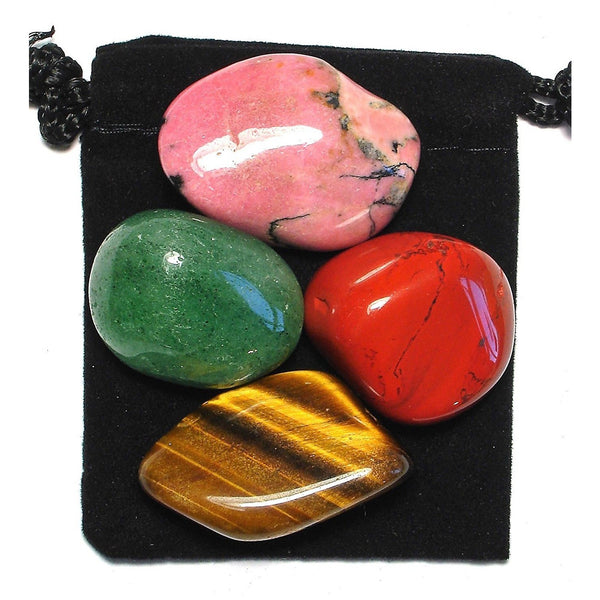 Goal Achievement Tumbled Crystal Healing Set