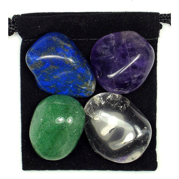 Headache and Migraine Relief Tumbled Crystal Healing Set