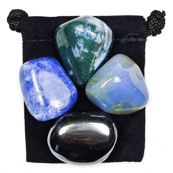 Teamwork Tumbled Crystal Healing Set