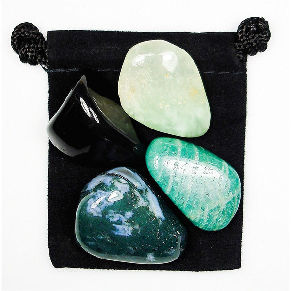 Overcoming Fear Tumbled Crystal Healing Set