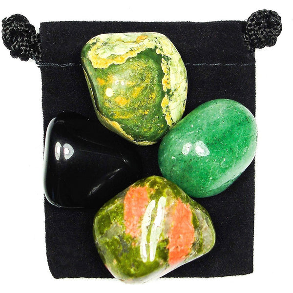 Healing Dis-Ease Tumbled Crystal Healing Set