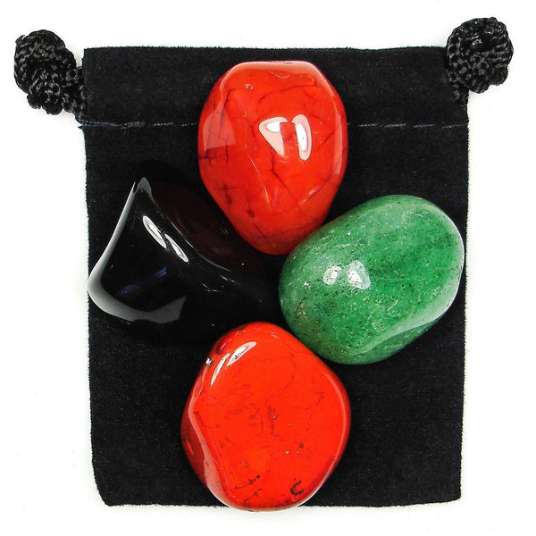 Ignite Determination Tumbled Crystal Healing Set