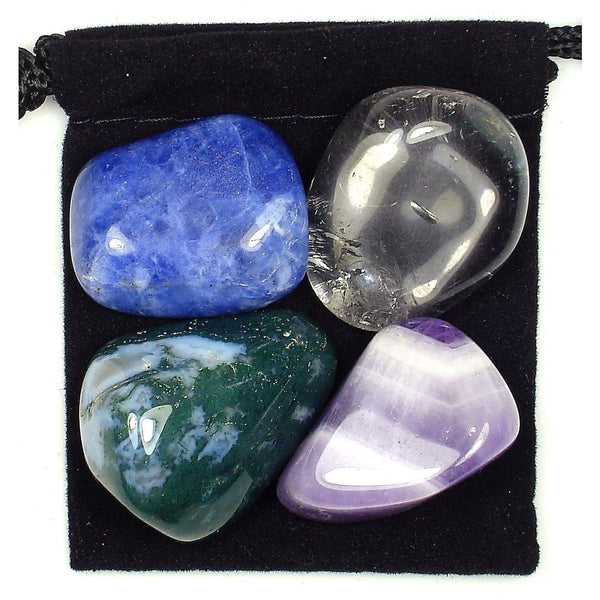 Immune System Boost Tumbled Crystal Healing Set