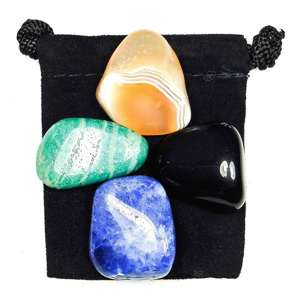 Truth Revealed Tumbled Crystal Healing Set