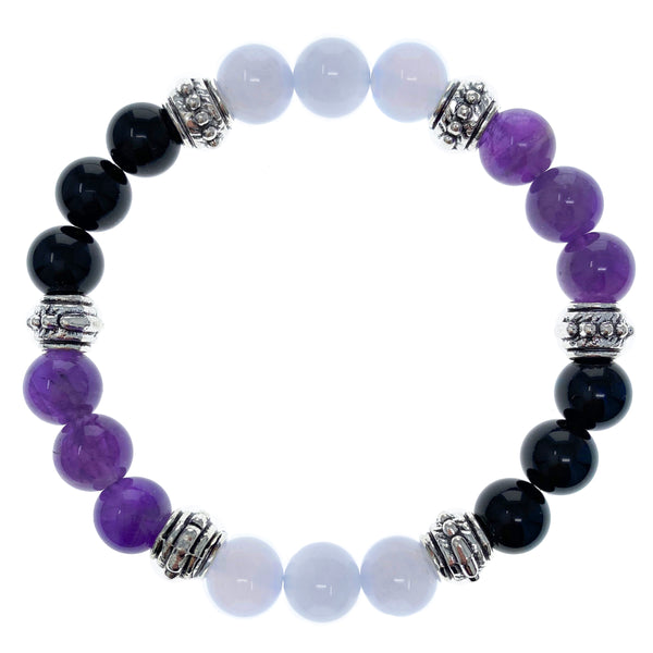 Obsessive Compulsive Disorder (OCD) Relief 8mm Crystal Intention Bracelet