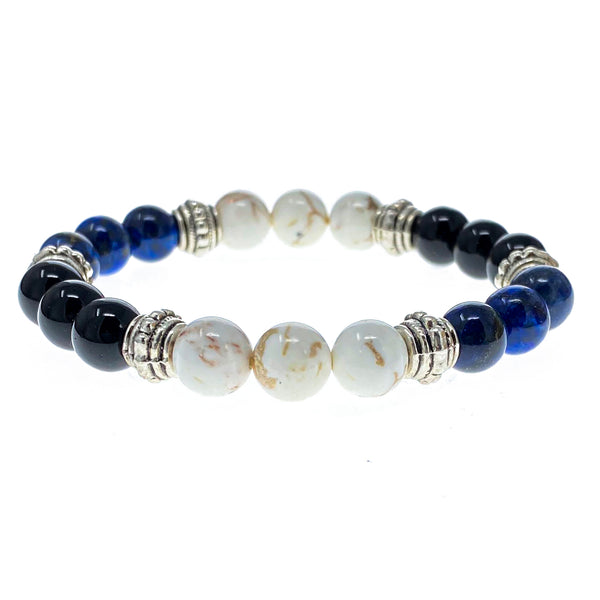 True To Yourself 8mm Crystal Intention Bracelet