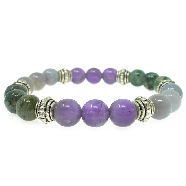 Joy & Happiness 8mm Crystal Intention Bracelet