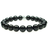 Tourmaline 8mm Round Crystal Bead Bracelet